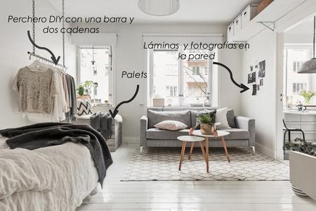 El jardin de los sue os decora un apartamento peque o con for Como decorar departamentos pequenos con poco dinero