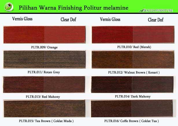 Warna Finishing Politur Melamik 2