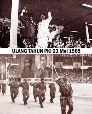ULANG TAHUN PKI 23 Mei 1965