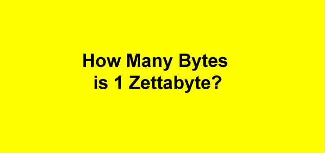 bytes to gigabytes