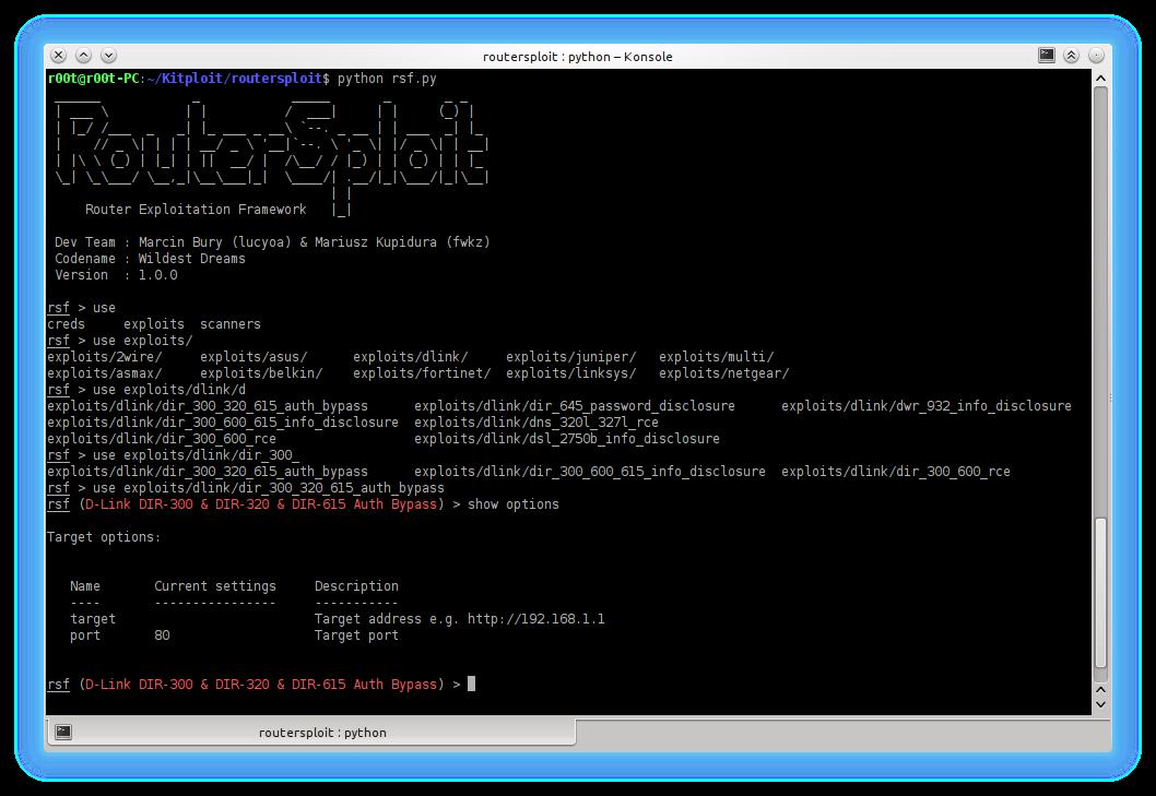 RouterSploit - Router Exploitation Framework - Hacking Land