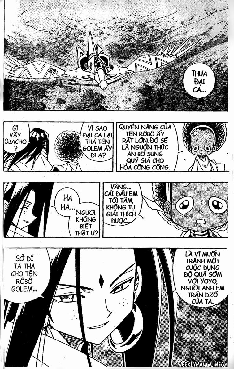 Shaman King [Vua pháp thuật] chap 202 trang 14