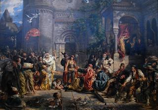 przyjęcie Żydów w Polsce w roku 1096