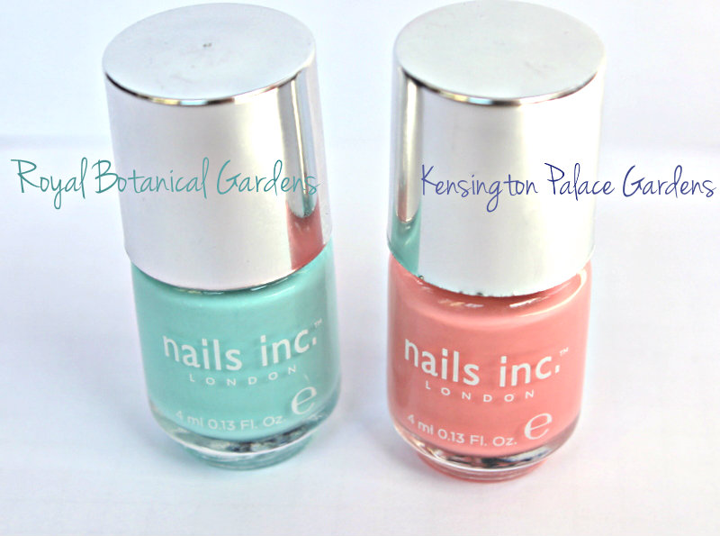 Nails inc. Spring Summer 2013 Collection