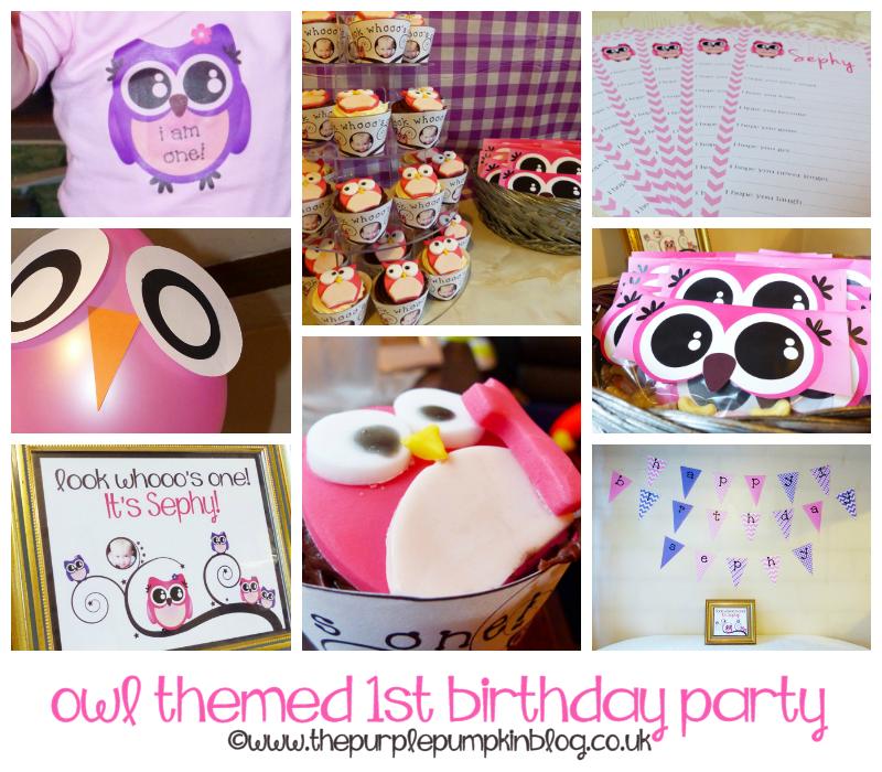 Owl themed 1st birthday party filmwisefo