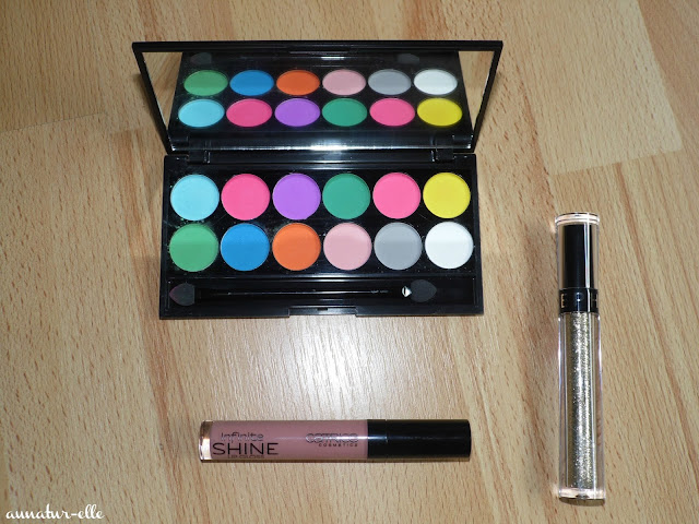 palette ultra matte V1 sleek makeup