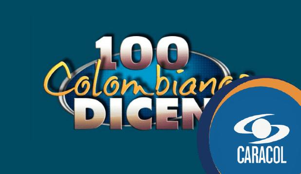 banner publicitario de 100 Colombianos Dicen