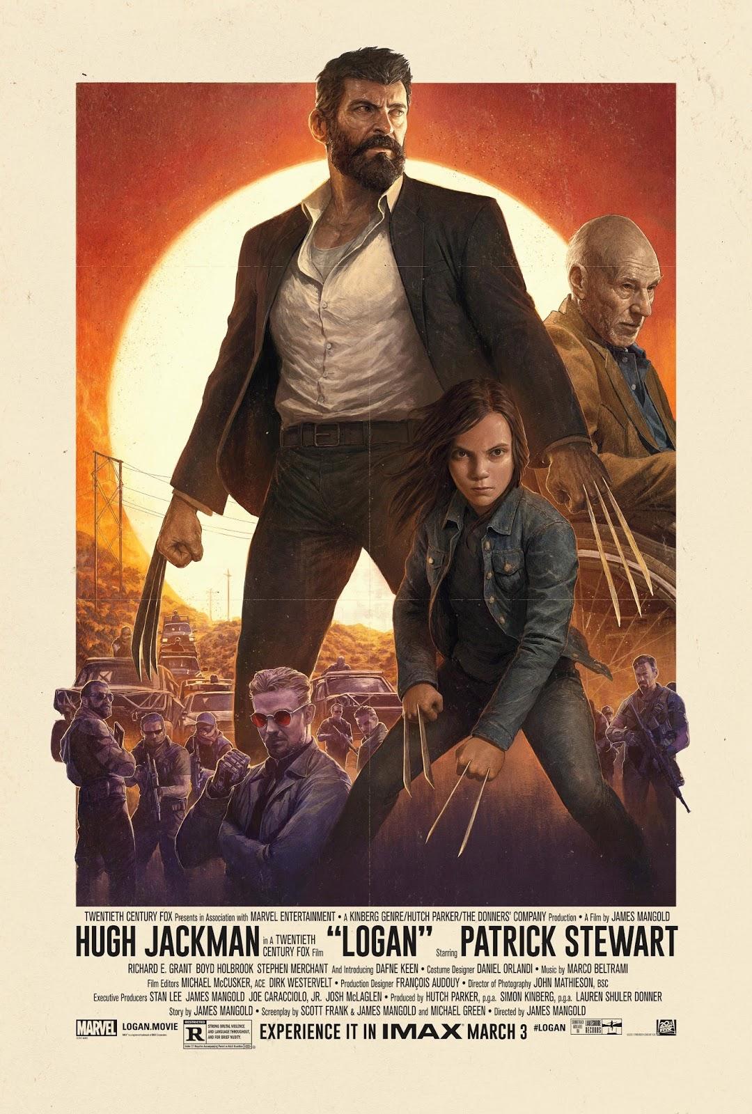 Логан, Росомаха 3, Logan, Wolverine 3, Люди Икс, X-Men, постер, poster