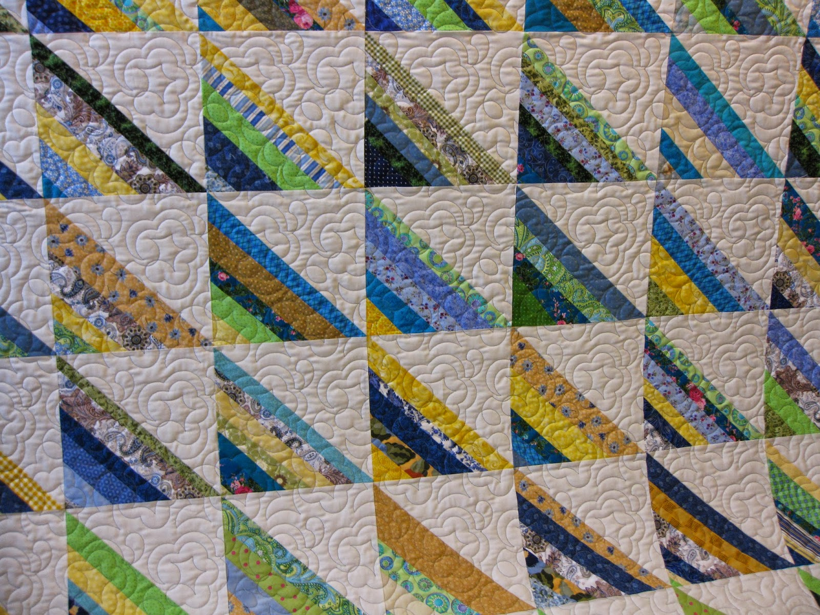 Millie's Quilting: String and Rail Fence quilts