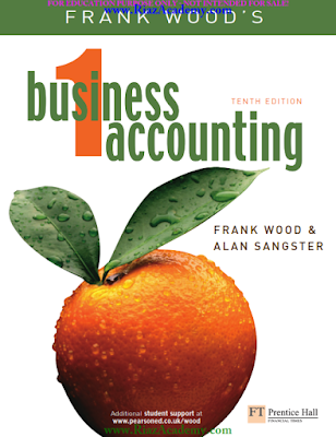 Business Accounting -1 10th Edition [Study Text] by Frank Wood & Alan Sangster