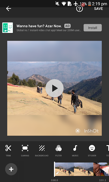 inshot video editor - best android video editor