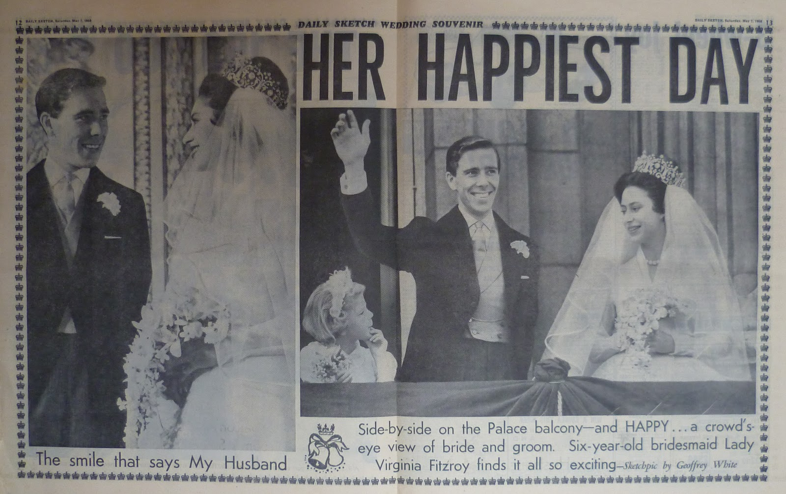 Hold The Front Page: Princess Margaret Wedding
