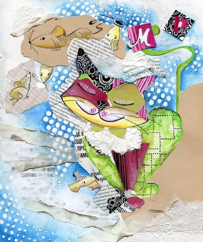 06-Inspired-By-Pop-Art-Veselka-Velinova-Paintings-of-12-Cats-in-Different-Art-Styles-www-designstack-co