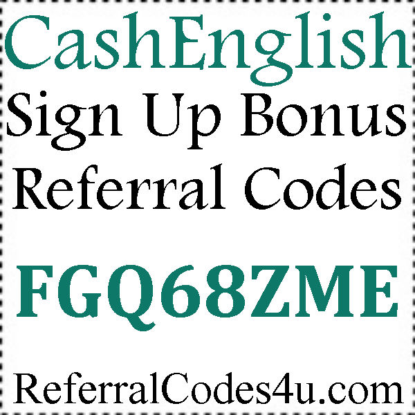 CashEnglish App Invite Codes 2016-2017, CashEnglish Mobile Download Android and Iphone