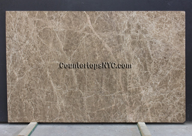 Emperador Medium Marble Slab NYC 2cm