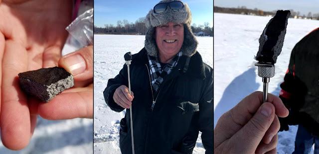 Meteoritos encontrados em Michigan