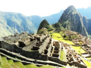 Fosso Seco: Separa o Setor Urbano do Rural de Machu Picchu