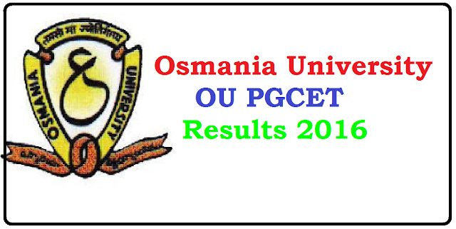 Osmania University CET Results 2016 Name Wise – OU PGCET Results 2016 / Oucet results 2016 Declared| Osmania University PGCET Results 2016 /2016/06/ou-pgcet-results-2016.html