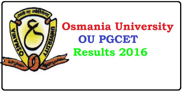 Osmania University CET Results 2016 Name Wise – OU PGCET Results 2016 / Oucet results 2016 Declared| Osmania University PGCET Results 2016 /2016/06/ou-pgcet-results-2016.html
