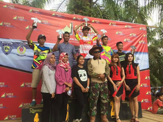 Pembalap PALI Kembali Raih Juara Umum Di Kejurnas Grasstrack Bengkulu