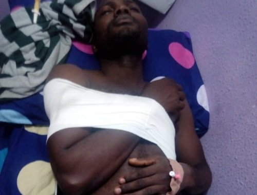 Injured Lagos INEC Official Undergoes Surgery