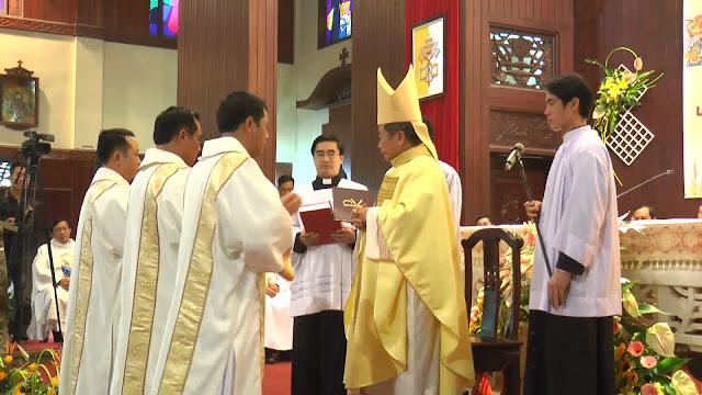 Lễ truyền chức Phó tế và Linh mục tại Giáo phận Lạng Sơn Cao Bằng