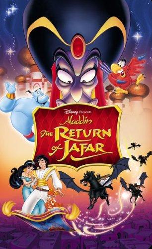 Poster of Aladdin The Return Of Jafar 1994 720p Hindi BRRip Dual Audio Full Movie
