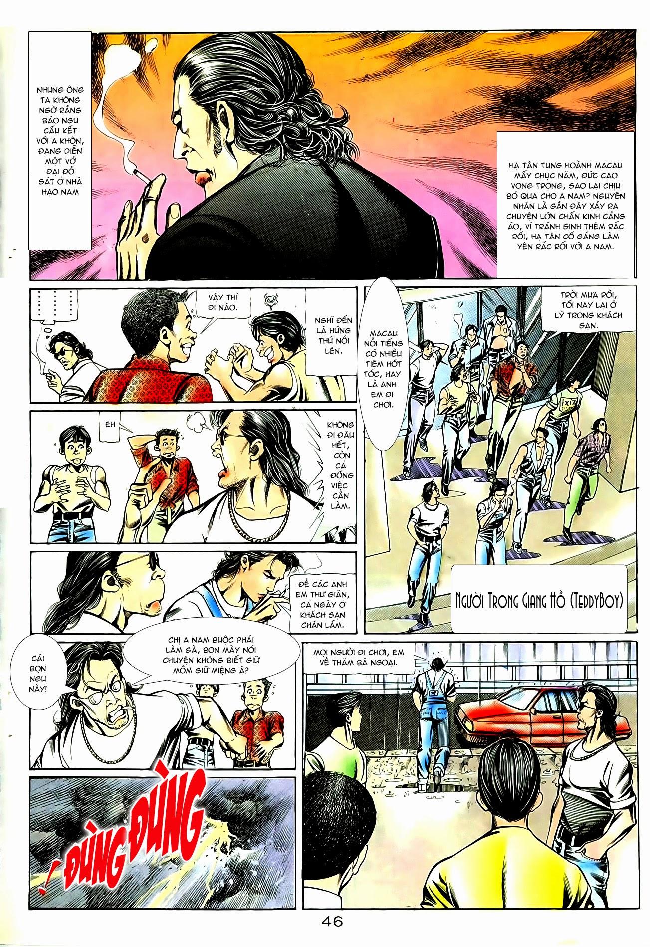 Người Trong Giang Hồ chapter 85: diệt môn trang 19