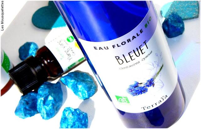 Eau florale Bleuet bio - Onatera - Terraïa - Blog beauté
