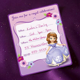 free sofia invitations