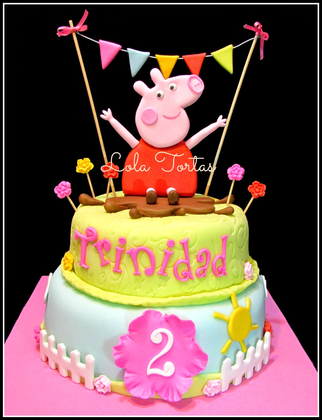 1000+ images about My cakes on Pinterest Peppa pig cakes