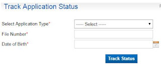 Passport Application Status