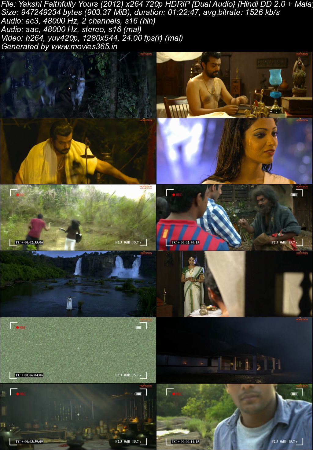 Single Resumable Download Link For Movie Yakshi Faithfully Yours (2012) Download And Watch Online For Free