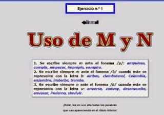 http://www.reglasdeortografia.com/mantesdepyb01a.html