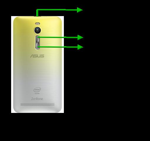 Come fare foto schermo Asus  ZenFone 3 Laser