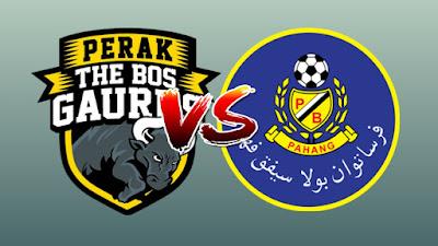 Live Streaming Perak vs Pahang Liga Super 20.4.2019