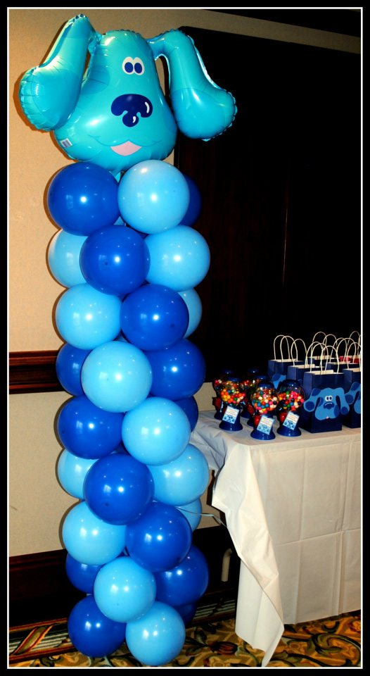 Homemade Parties: Jacub's 1st Birthday Party - Blue's Clues.