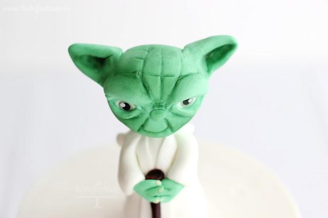Tutorial Yoda de fondant