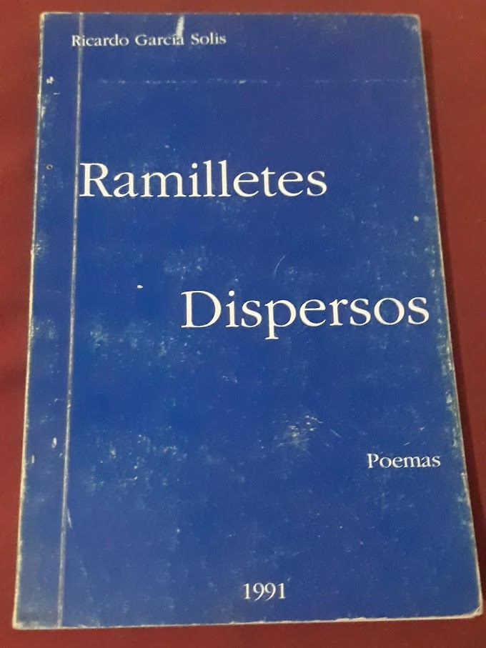 Algo más que solo poemas dispersos de Ricardo García Solís- Libro