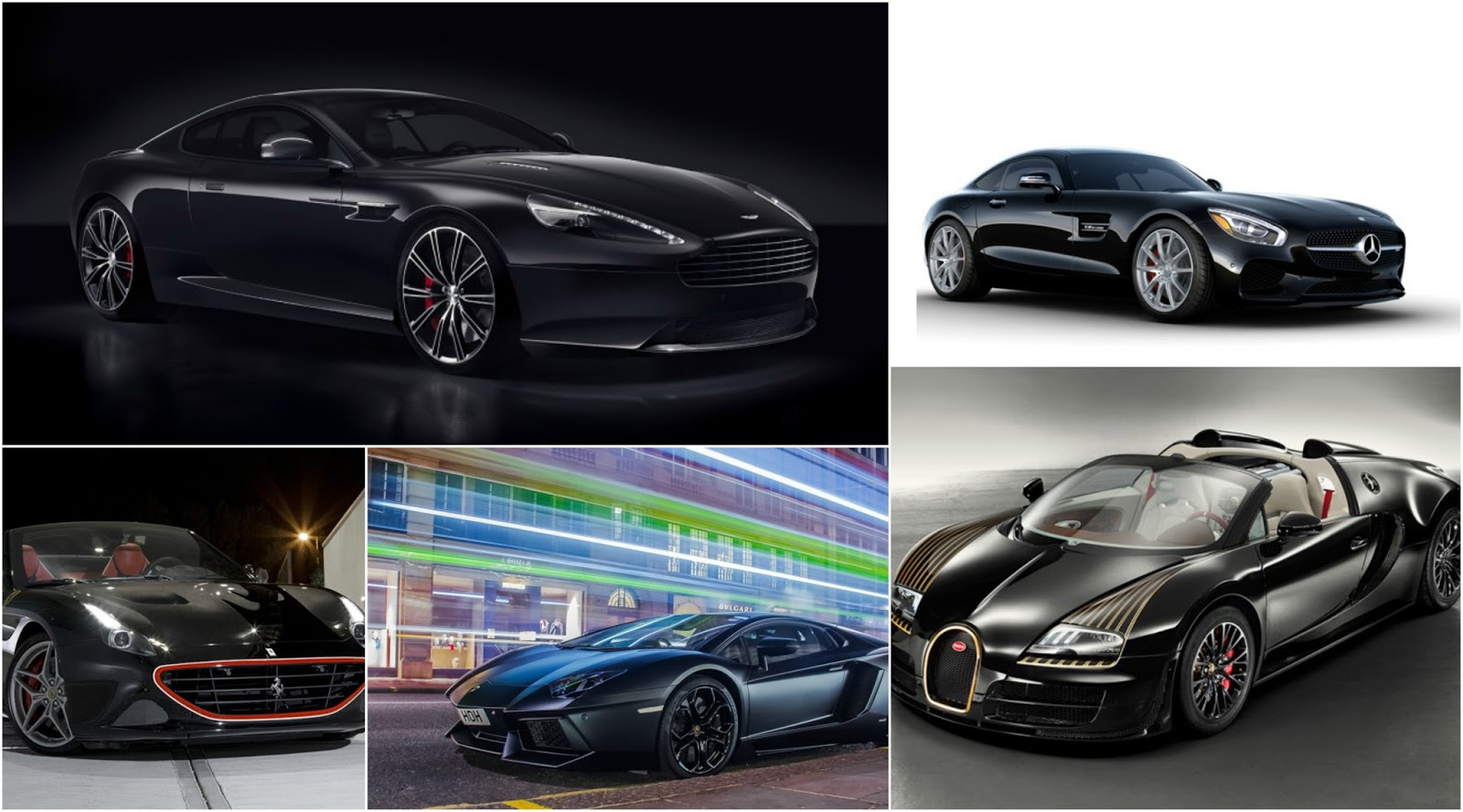 Black Luxury Vehicles: Passion For Luxury : 10 Luxury Cars In Black For A Night