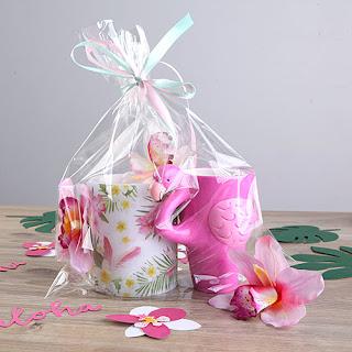 Tropikalny zestaw prezentów dla Panny Młodej
