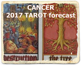 CANCER 2017 TAROT Forecast Oracle