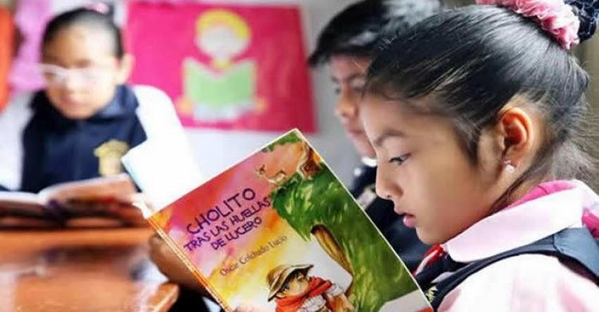 Programa «Leemos juntos» del MINEDU promoverá la lectura entre los escolares