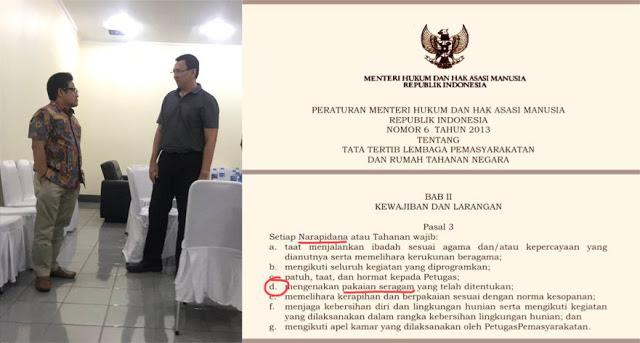 Cak Imin Temui Ahok di Mako Brimob, Suryo Prabowo: Kok Gak Pakai Seragam?