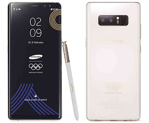 Samsung Announces a PyeongChang 2018 Olympic Special Edition Galaxy Note8