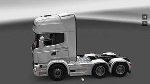 Scania Streamline 6×2/4 sideskirts by dbülow