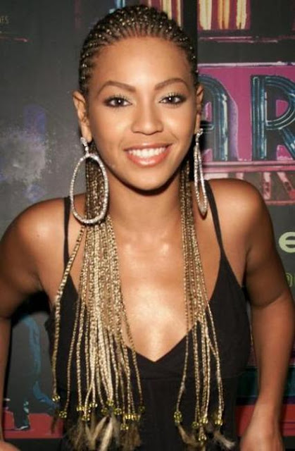 beyonce with braids