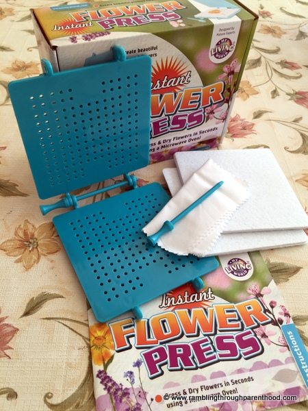 Contents of the Flower Press by Interplay UK