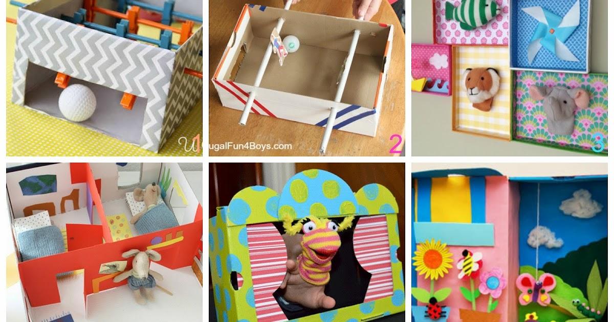 Mamma aiuta mamma come fare giochi per bambini con le for Foderare una scatola