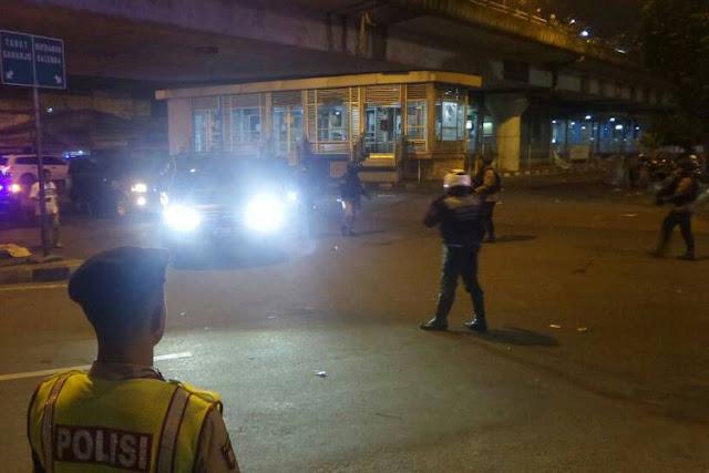 Wakapolri Sebut Bom di Terminal Kampung Melayu Diduga Bunuh Diri